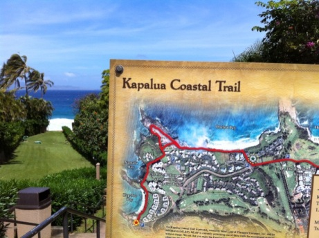 Kapalua Coastal Trail, Maui- Hawaii